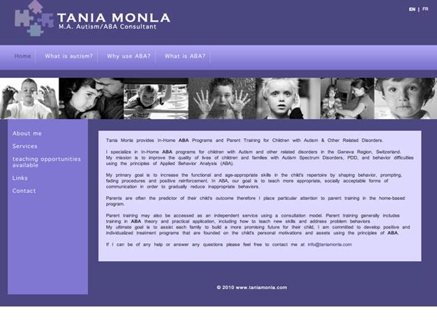 Tania Monla website